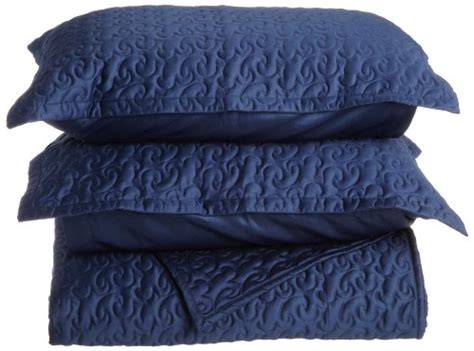 navy blue quilted coverlet sell tuscany fine italian linens egyptian cotton quilted