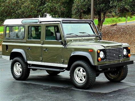 used land rover defender 110 1997 defender 110 for sale curpipe land rover defender 110 1997 land rover defender 110 station wagon birmingham alabama wlrs