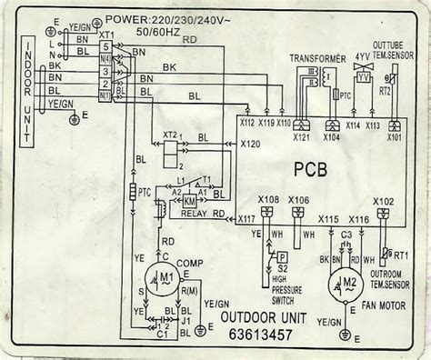 split ac csr wiring diagram wiring diagram with description