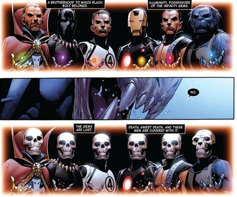 gli illuminati marvel marvel now gli osservatori multiverso
