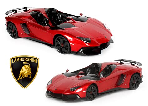 Remote Cars Lamborghini Aventador Rastar Rc Car Licensed1 12 Lamborghini Aventador J
