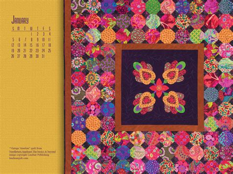 desktop wallpaper quilts free quilt calendar computer wallpaper january quilt