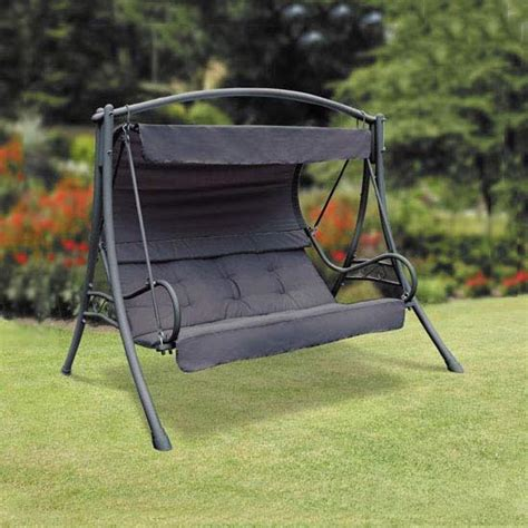 garden swing seat replacement parts replacement canopy for suntime seville black swing seat