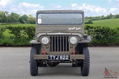 1952 Willys Jeep 1952 Willys Jeep Green