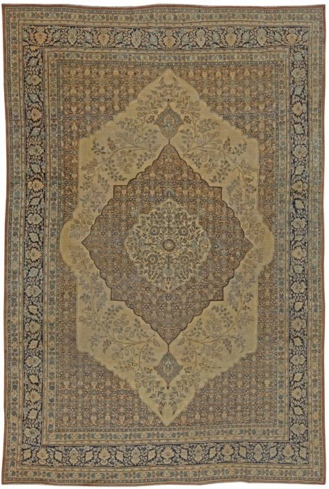 Antique Tabriz Rug by Antique Tabriz Rug 12x7 Bb5465 By Doris Leslie Blau
