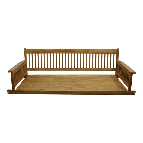 home depot patio swings plantation 2 person daybed maple wooden porch patio swing