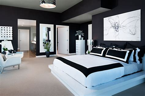 Bedroom Decor Black And White 10 Amazing Black And White Bedrooms Decoholic