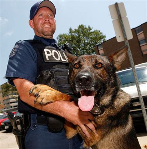 K9 Officer by K 9 Officers Getting A Second Leash On