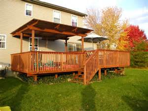 small yard deck plans landscaping gardening ideas