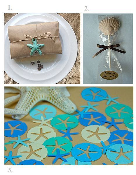 Beach Giveaways - team wedding blog ideas for beach wedding favors seaside or lakeside