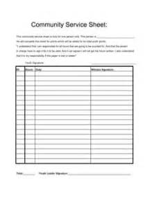 Community Service Log Sheet Template by 1000 Images About Community Service On