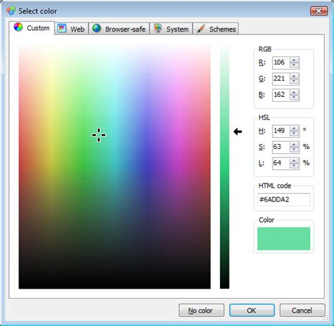 zeta color editor codeproject