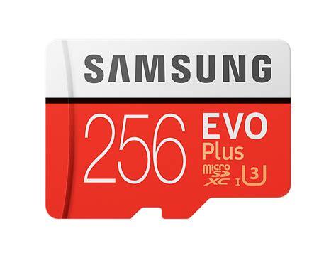 Samsung Microsd 256 test samsung evo plus microsdxc karte mit 256 gb