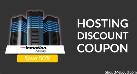 inmotion hosting discount coupon save