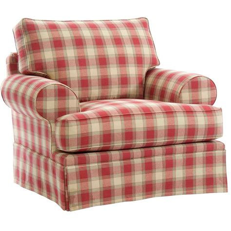 broyhill plaid sofa broyhill 6262 0 emily chair discount furniture at hickory