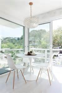 Ikea docksta transitional dining room
