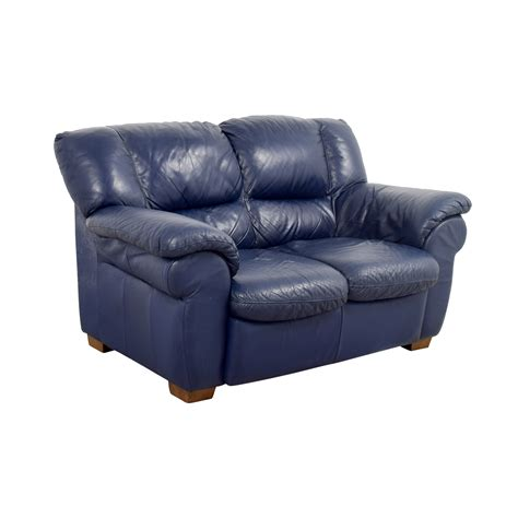 Navy Blue Leather by 80 Macy S Macy S Navy Blue Leather Loveseat Sofas