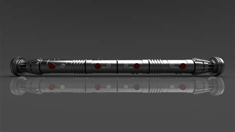 Lightsaber Ls by 3d Work Darth Maul Lightsaber