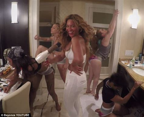 beyonce bathroom beyonce s 7 11 music video shows her in skimpy underwear