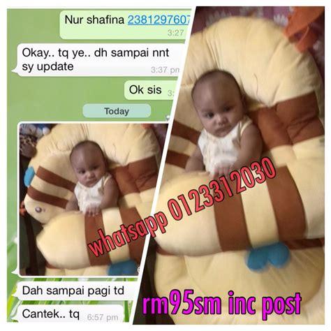 Bantal Anak Balita Babybee Baby Bee Toddler Pillow Premium 62 tilam baby pelbagai bentuk kedai cadar patchwork murah berkualiti