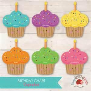 bulletin board calendar template busy bugs cupcake birthday chart 12 months great