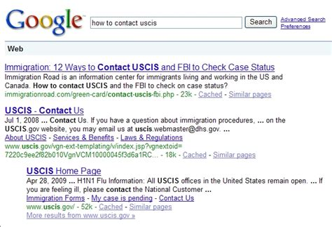 Uscis Search Contact Uscis U S Citizenship And Immigration Services Immigration Road