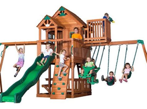 best swing set for toddlers the 9 best backyard swing sets for kids to have fun