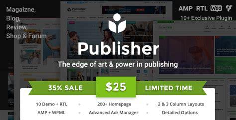 themeforest publisher publisher v1 8 5 newspaper magazine news review
