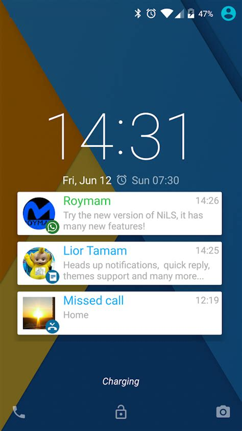 android lock screen notifications nils lock screen notifications android apps on play