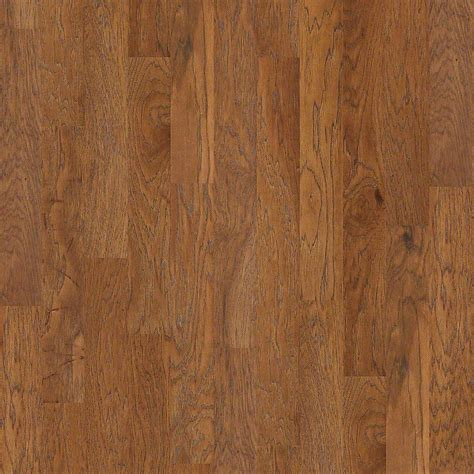 Shaw Engineered Hardwood Shaw Riveria Weathered Hickory 3 8 In X 5 In Wide X 47 33 In Length Engineered Click Hardwood