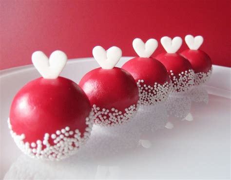 valentine s sweet valentine cake balls valentine cakes cake ideas by