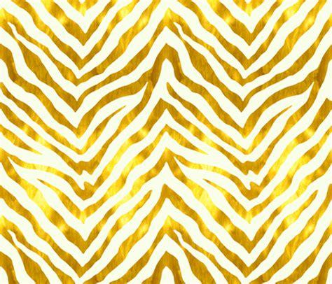 Zebra Pattern Gold | gold and white zebra fabric willowlanetextiles spoonflower