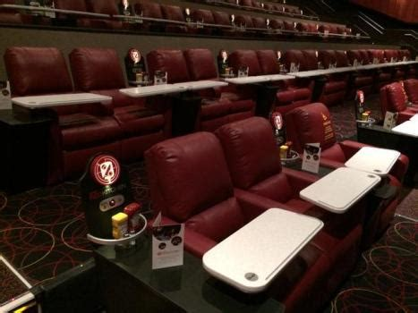 amc plush recliners amc opens dine in theater featuring danny meyer menu in