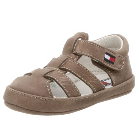 hilfiger baby shoes hilfiger infant toddler lil bryce sandal brown 3 m