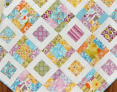 4 Inch Square Quilt Pattern by S Stuff Scrap Quilting Obsession