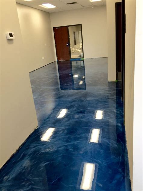 metallic epoxy floor coating  sierra concrete arts