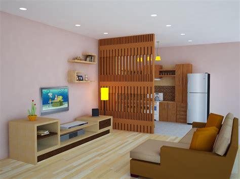 Meja Tv Moderen konsep desain ruang keluarga lebar dan sehat