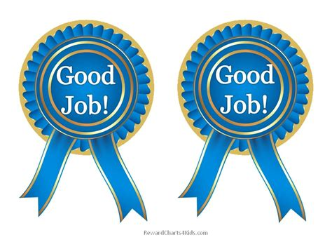 printable trophy stickers free good job sticker printables print on paper and