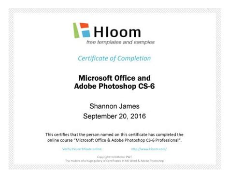 7 Certificates Of Completion Templates Free Download Course Completion Certificate Template