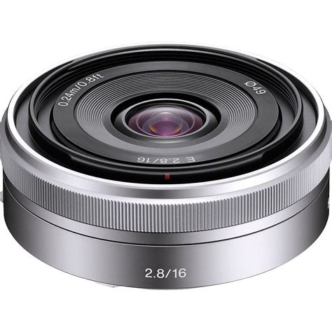 sony 16mm f2 8 e mount lens info