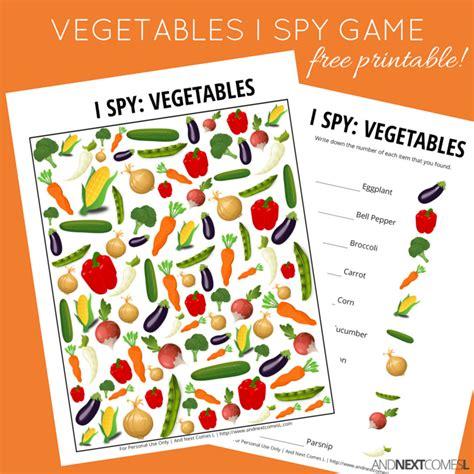 l vegetables vegetables themed i free printable for