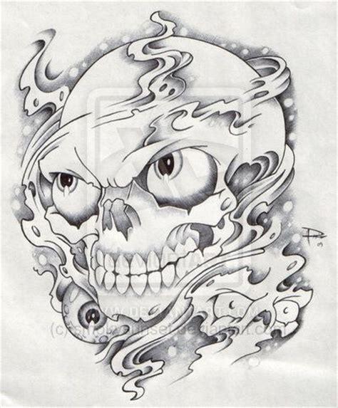 smoke skull tattoo designs 25 best ideas about smoke on