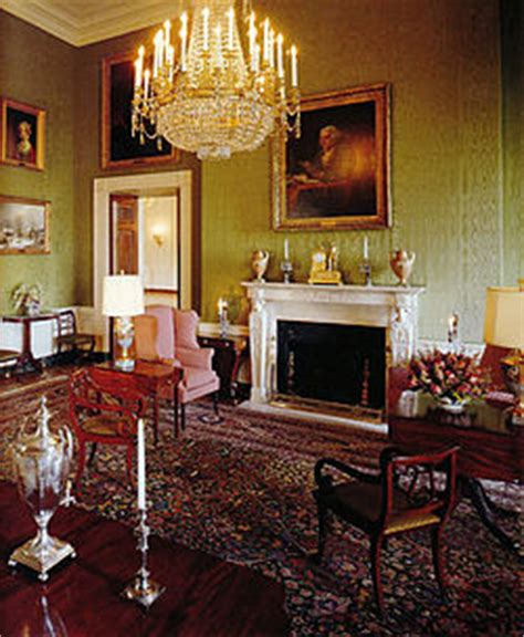 What Does Co Interior by Green Room White House