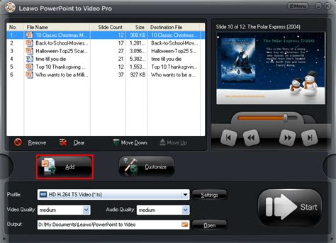apple quicktime player powerpoint 2010 how to save powerpoint as ts format