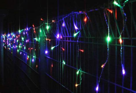 200 led christmas wedding party icicle lights memory multi