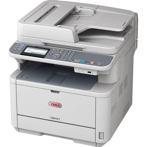 Printer Laser Oki Okidata Mb461 Multifunction Laser Printer Copyfaxes