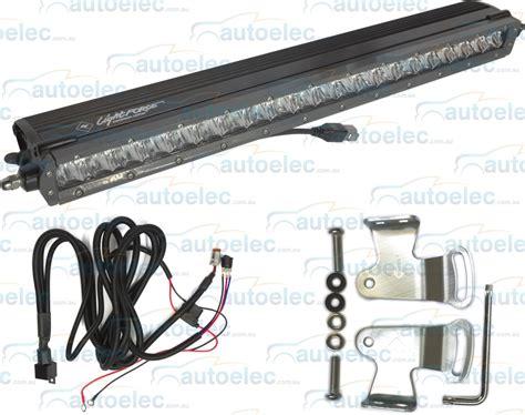20 inch single row led light bar genuine lightforce 20 quot inch 100w single row led light