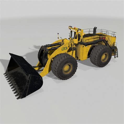 Wheel Loader Kaos 3d Genethics 3d wheel loader letourneau l