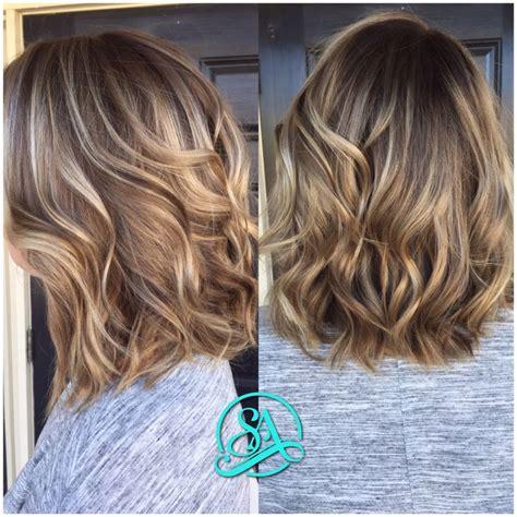 balayage blonde hair bob long bob balayage with smudged root short hair cuts and