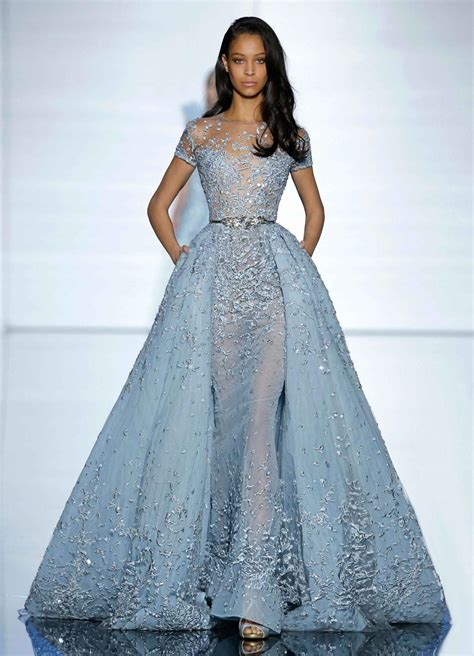 Dress Luxury Dress evening dress formal 2016 luxury zuhair murad sheer